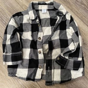 Old Navy Buffalo Plaid Button Up